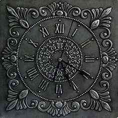 имитация чернения серебро Dot Painting Tools, Clock Painting, Glass Painting Designs, Aluminum Foil Crafts, Aluminum Cans, Metal Crafts, Pewter Art, Pewter Metal, Tin Foil Art