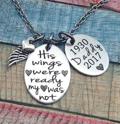 Sympathy Gift Father Memorial Jewelry Memorial Gift His Tribal Tattoos, Tattoos Skull, In Memory Of Dad, In Loving Memory, In Memory Gifts, Memorial Jewelry, Memorial Gifts, Memorial Ideas, Funeral Memorial