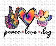 Peace Love Dogs, Peace And Love, Peace Sign Drawing, Vinyl Crafts, Vinyl Projects, Paw Print Art, Sublime Shirt, Printable Animals, Peace Art