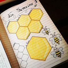 Bienen Sticker