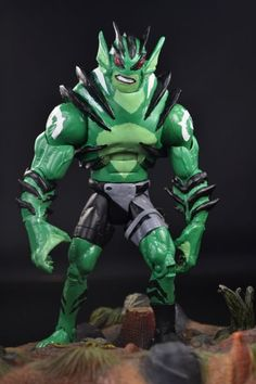 Young Justice Lagoon Boy Version 2 Berserk Mode (Young Justice) Custom Action Figure