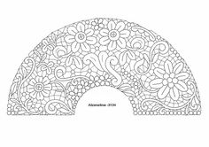 ABANICOS EN BOLILLOS - maria baron - Álbumes web de Picasa Crochet Collar, Lace Collar, Bobbin Lace Patterns, Geometric Mandala, Point Lace, Mandala Pattern, Lace Design, Ribbon Embroidery, Crochet Flowers