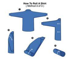 3 formas de doblar tu #camisa | Síguenos @CorbMex | Facebook Julio Patán Corporate Fashion | www.ventasdecorbatas.com.mx