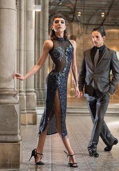 Vestido Tango Escenario - Source by hermineantonia - Preppy Fall Outfits, Gothic Steampunk, Steampunk Clothing, Victorian Gothic, Steampunk Fashion, Gothic Lolita, Party Frocks, Tango Dress, 1930s Dress