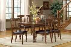 Hillsdale 4610DTBC7 Arlington 7-Piece Dining Set