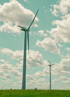 I've always wanted to go to a wind turbine power plant :)