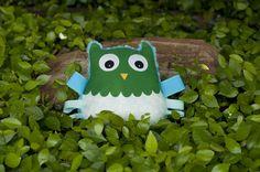Owl Taggie Doll