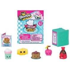 The Shopkins Chef Club Playset - 5 Pack Features:Come over to the cutest kitchen in town and see what's cooking at the Chef's Club! This season each Shopkin(TM) is an . Shopkins List, Shopkins Chef Club, Shopkins Game, Shopkins Season 6, Online Craft Store, Craft Stores, Moose Toys, Mystery Bag, Shopping