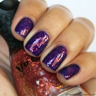 Nail Ideas I luv purple