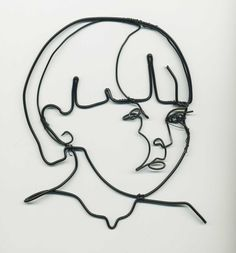 I am going to get my students to do a blind contour drawing of themselves and then make it out of wire.