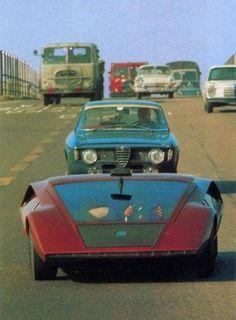 Lancia Stratos Zero by Bertone, 1970
