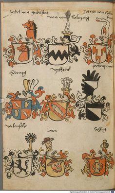 Wappen besonders von deutschen Geschlechtern Süddeutschland ?, 1475 - 1560 Cod.icon. 309  Folio 47v