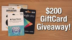 Win Retail Promotions - $200 Google Play Gift Card WAP