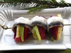 Sushi, Menu, Winter, Ethnic Recipes, Food, Menu Board Design, Winter Time, Essen, Meals