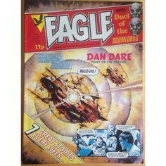 Eagle 25/06/1983 UK Paper Comic Sci Fi