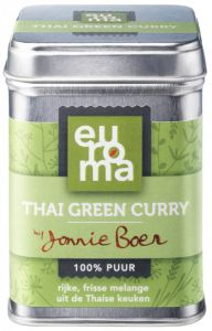Original Spices by Jonnie Boer - Thai Green Curry Coffee Cans, Indian Food Recipes, Spices, Canning, Healthy, Burgers, Mushroom, Hamburger Patties, Indian Recipes