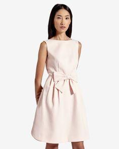 Bow dress - Pink   Dresses   Ted Baker UK