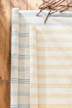 An 8x10 rug to match my 2x3s: Blue marine Sail Stripe Swedish Stripe Rug