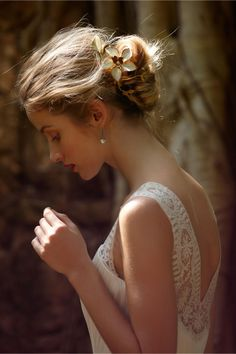 romantic sun-kissed updo