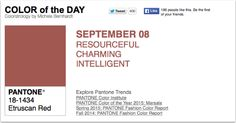 APPart – Mobile Art – Pantone Color of the Day – 'Etruscan Red' – TheAppWhisperer