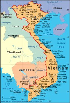 map of vietnam where my husband served 1967 1968 and was exposed to