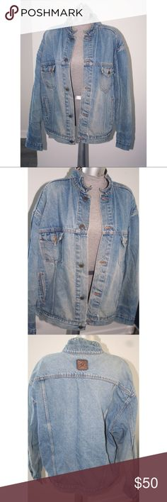 Men's Jean Jacket XL Great Condition. Two small holes on one sleeve. Brand: Marlboro country store. Jackets & Coats