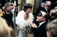 Truman Capote's Black and White Ball at the Plaza Hotel, New York City, by Elliott Erwitt, 1966