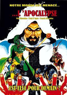 Quand le monde est en DANGER et que l'homme ne peut rien faire ! Seuls les Méga héros peuvent intervenir... L'APOCALYPSE EST-ELLE POUR DEMAIN ?