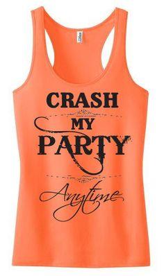 Tank Top - Crash My Party