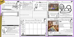 Charlie and the Chocolate Factory Activity Sheets Pack