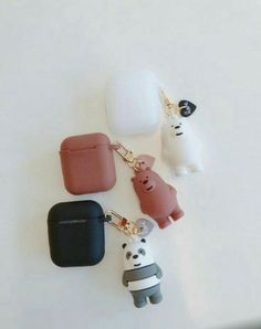 Choses Cool, Cute Ipod Cases, Cute Headphones, Bff, We Bare Bears Wallpapers, Accessoires Iphone, We Bear, Accesorios Casual, Airpod Case
