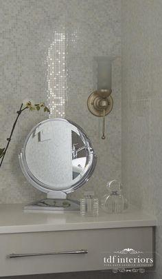 Luxurious and Tranquil Contemporary Bathroom design on Chicago North Shore Contemporary Bathroom Designs, Contemporary Style, Standing Shower, Residential Interior Design, North Shore, Master Bathroom, Custom Design, Chicago, Interiors