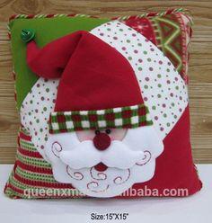 Télapu tervezés karácsonyi dekorációk szék párna