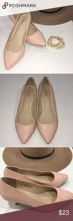 Cato Pumps Size 8W Pastel Pink Pumps with a small heel. Perfect for work or a night out. Have a few scuff marks as seen on the pictures, however never worn. Cato Shoes Heels