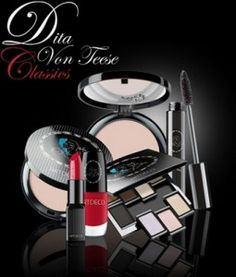 Dita von Teese make up collection for Artdeco