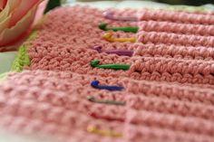 Crochet Hook Case#naturadmc