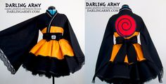 Uzumaki Naruto Shippuden Cosplay Kimono Dress by DarlingArmy.deviantart.com on @DeviantArt
