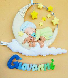 Fiocco nascita bimbo e stelle