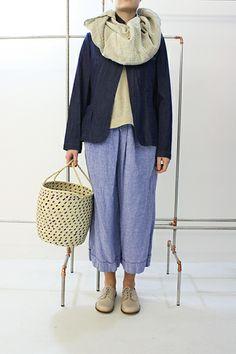 Daniela Gregis Straw Basket
