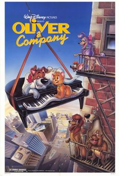 Day15: first Disney movie you saw?  oliver and company surprisingly