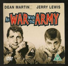 """DVD ."""" AT WAR WITH THE ARMY  """" DEAN MARTIN,  JERRY LEWIS"""