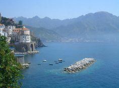 Atrani - Salerno - Amalfi Coast....can't get there fast enough.