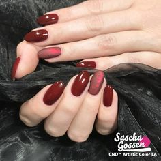 So in love with these nails ❤️ CND™ SHELLAC™ Oxblood with Lecenté foil and foil frost effect. #naildesigns #nailstagram #nailswag #fashion #nails2inspire #cnd #cndshellac #cndworld #cndeducationambassador #cndnederland #sascha #saschagossen #lecente #laprofilique #red #rednails #foil #shellac #nails #nailpro #nailart #foilfrost #cndoxblood #oxblood #foil @cndnederland @cndworld @laprofilique @lovelecente