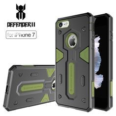 Nillkin Defender II PC&TPU Shockproof phone Cases 4.7 inch New Hybrid Tough Armor protective shell for iPhone 7 back Case cover