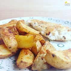 Fish and chips con patatas deluxe