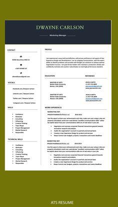 Cover Letter Design, Cover Letter For Resume, Cv Design, Resume Design, Cv Template, Templates, Cv Words, Sales Resume, Modern Resume