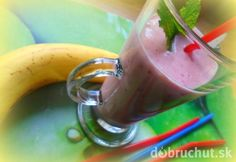 Banánovo-jahodové smoothie