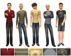 """Mod The Sims - Oodles of """"Untucked"""" Attire: Anniversary Collection"""
