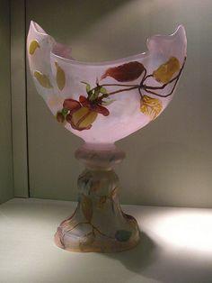 Coupe rose (1901), Emile Gallé - Musée de l'Ecole de Nancy…   Flickr