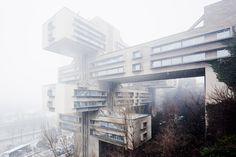 The Very Best of Strange Soviet Architecture / Calire Cottrell @flavorwire | Ministry of Highways and Transportation – Tbilisi, Georgia | #sovieticarquitectura